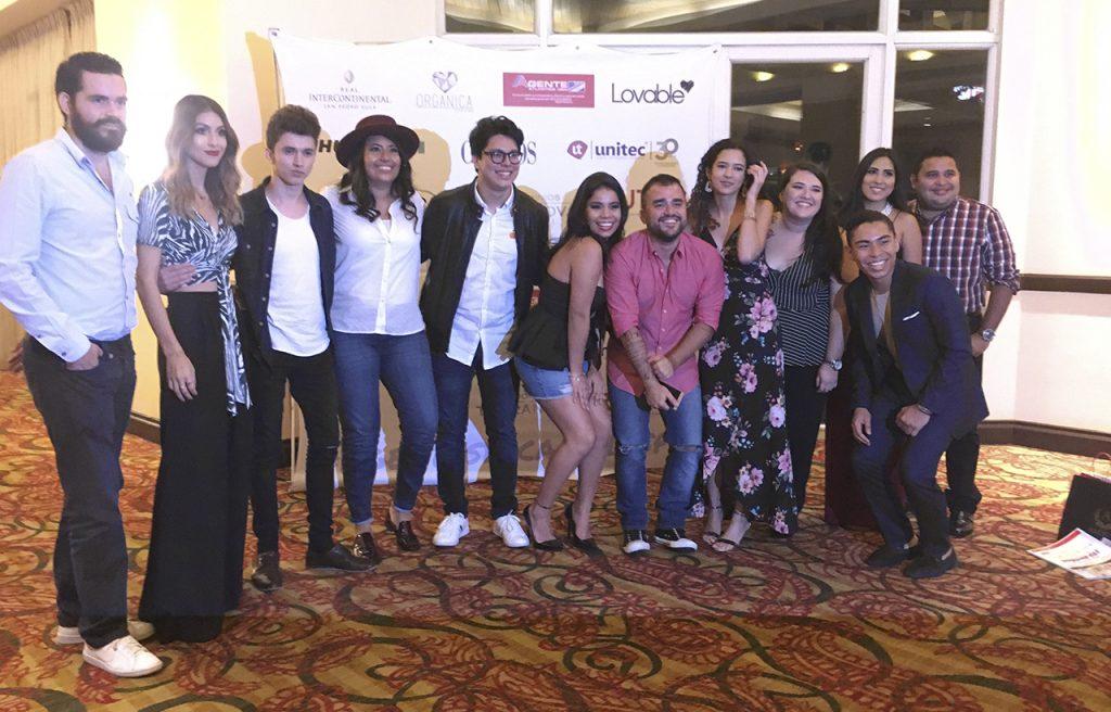 Josué Cover - Con personalidades del internet en Honduras