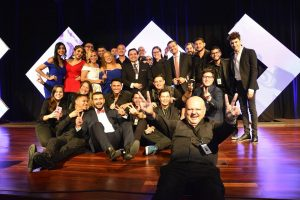 Campus Televisión equipo de transmisión Viral Media Awards
